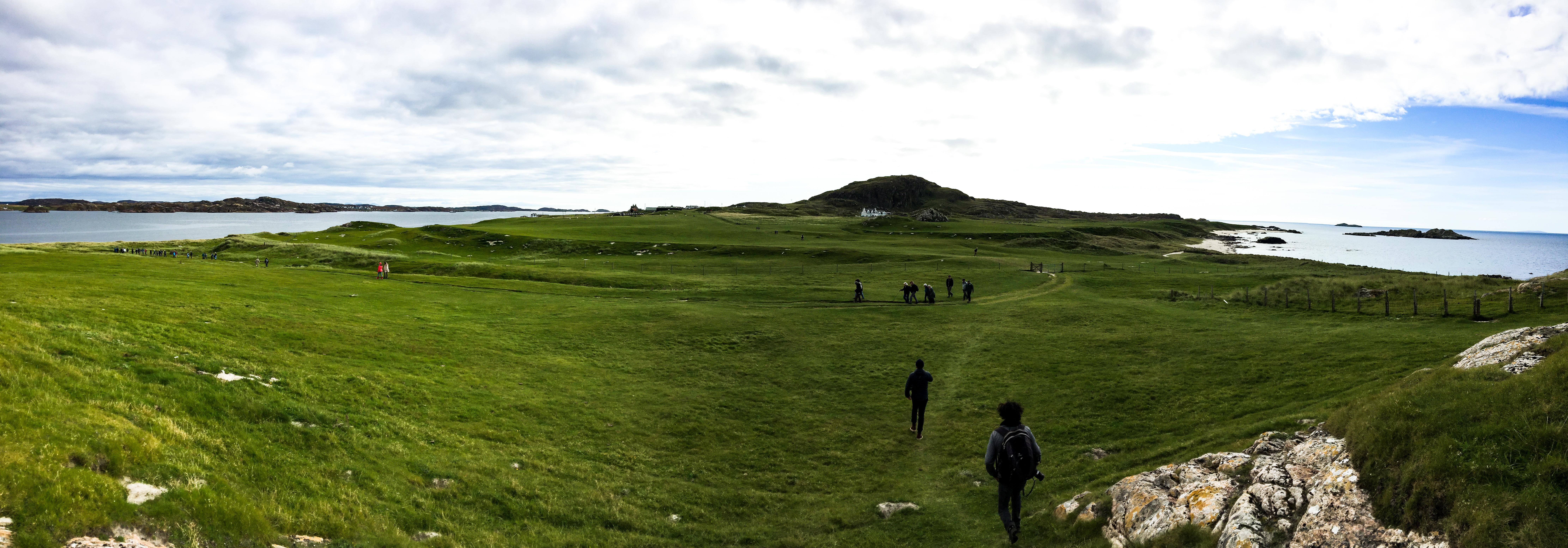 Wunderschöne kleine Insel vor Schottland
