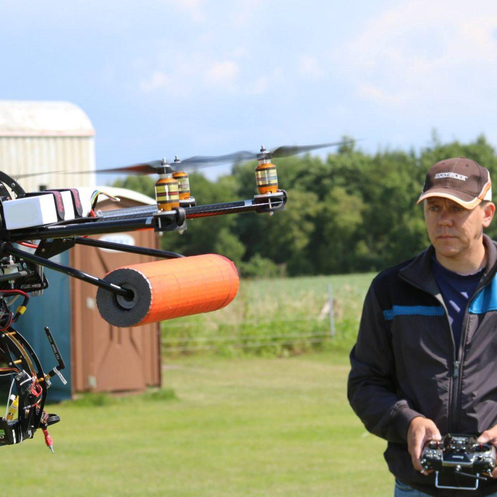 Jens Drohnen Pilot und Lehrer